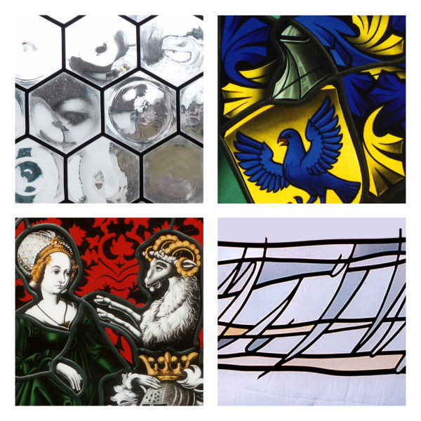 Butzenscheiben, Wappenscheibe, Familienwappen, Glasdesign – Peter Kuster